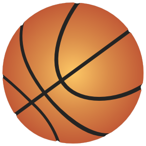 Basketball Printed Full Color Sticker