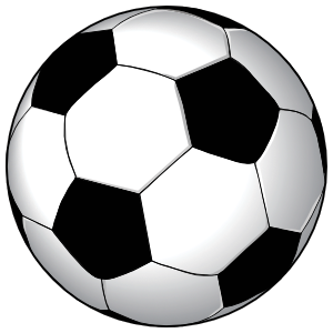 Soccer Ball Printed Full Color Magnet