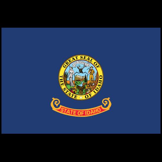 Idaho Id State Flag Magnet