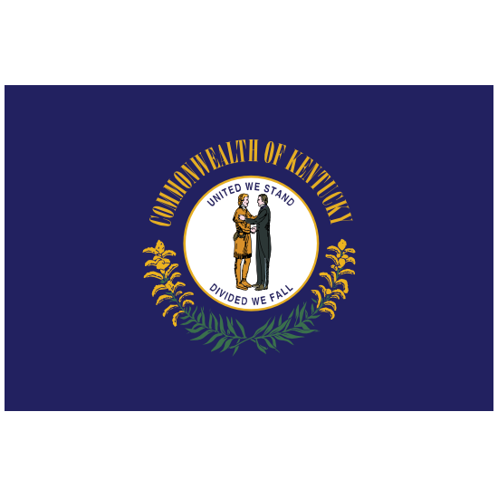 Kentucky Ky State Flag Magnet