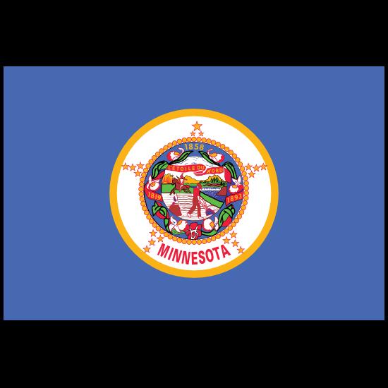 Minnesota Mn State Flag Magnet