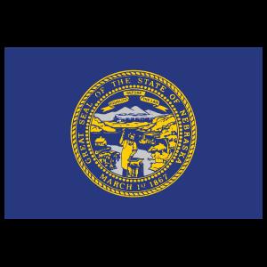Nebraska Ne State Flag Magnet