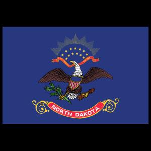 North Dakota Nd State Flag Magnet