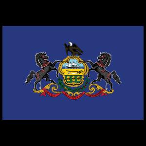 Pennsylvania Pa State Flag Magnet