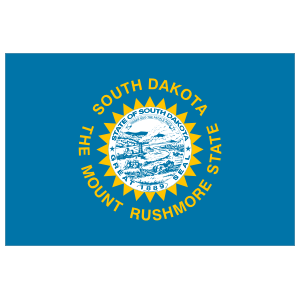South Dakota Sd State Flag Magnet