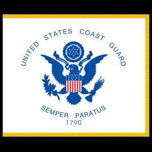 Coast Guard Flag Sticker