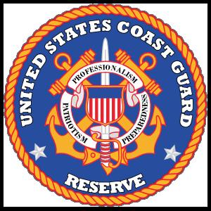 Coast Guard Reserve Seal Sticker