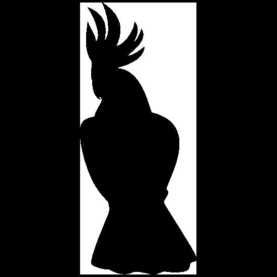 Cockatoo Sitting Sticker