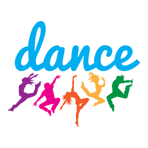 Colorful Dance Team Sticker