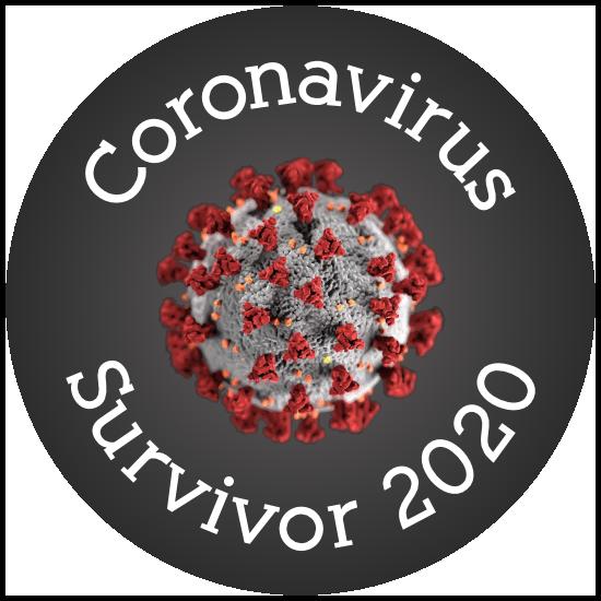 Coronavirus Survivor Sticker