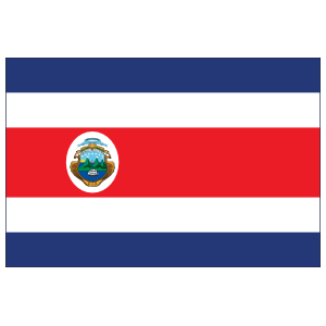 Costa Rica Country Flag Magnet