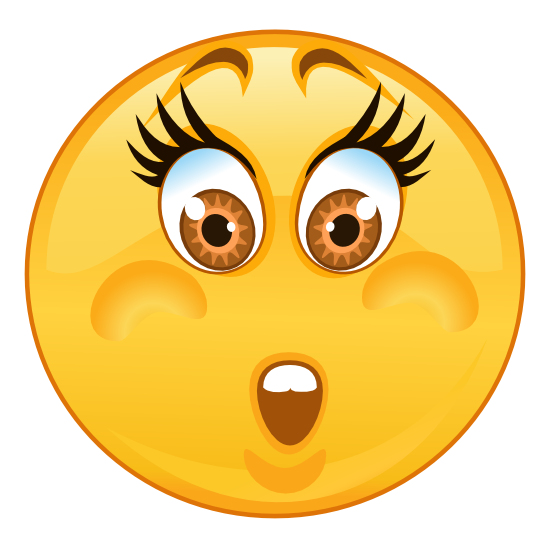 Crazy Worried Emoji Sticker