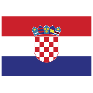 Croatia Country Flag Sticker