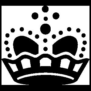 Dot Crown Sticker