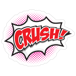 Crush Comic Sticker