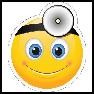 Cute Doctor Emoji Sticker