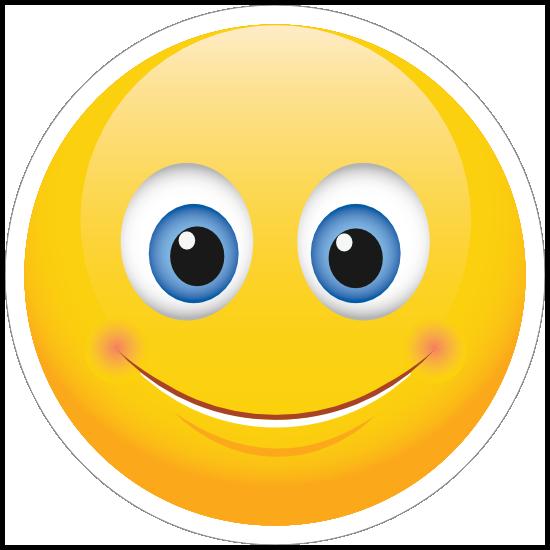 Cute Smile Emoji Sticker