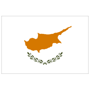 Cyprus Country Flag Magnet