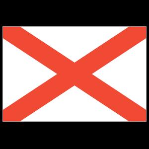 Alabama Al State Flag Magnet