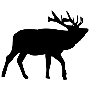 Big Deer Sticker