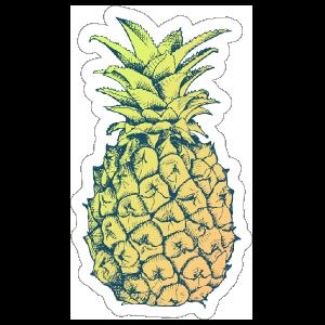 Delicious Pineapple Sticker