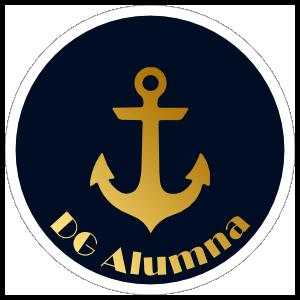 Delta Gamma Blue and Gold Alumna Sticker