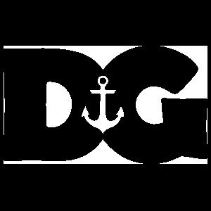 Delta Gamma DG Overlap Sticker