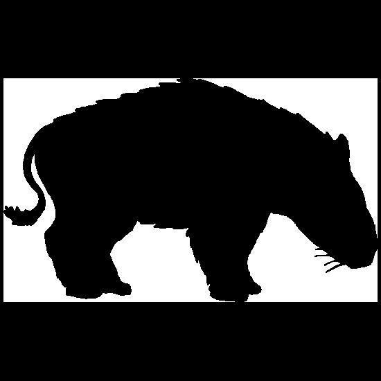 Short Dinosaur Sticker