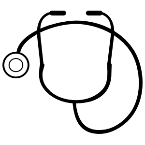 Doctor Stethoscope Sticker