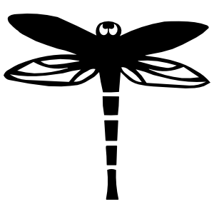 Dragonfly With Big Eyes Sticker