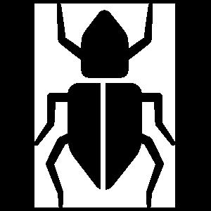 Simple Beetle Sticker