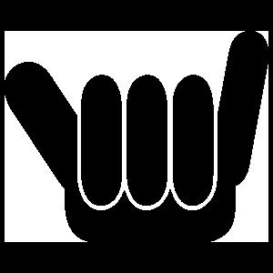 Shaka Symbol Sticker