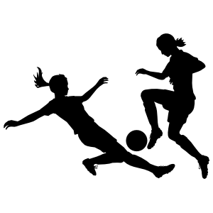 Sliding In Soccer Sticker