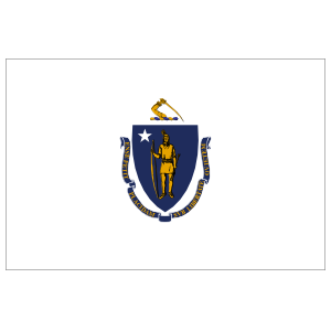 Massachusetts Ma State Flag Magnet