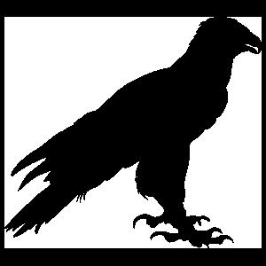 Eagle Standing Sticker