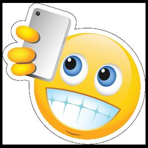 Cute Selfie Male Emoji Sticker