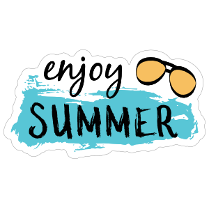 Enjoy Summer Sticker