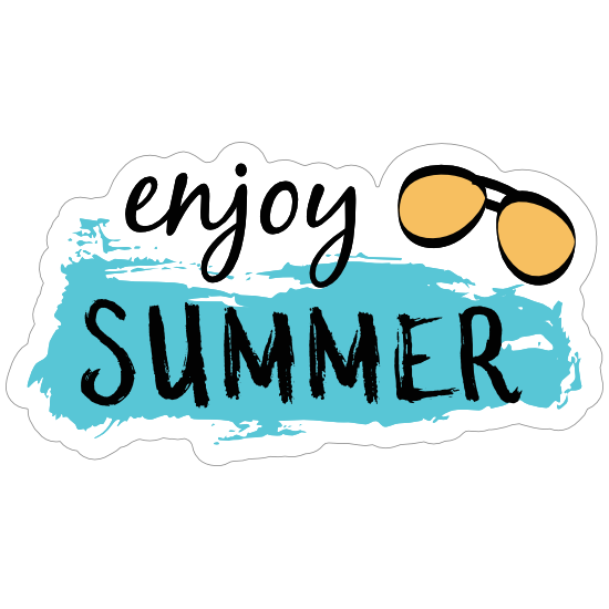 Enjoy Summer Sticker