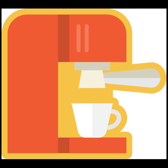 Espresso Machine Sticker