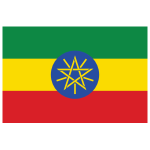 Ethiopia Country Flag Magnet