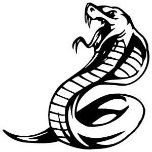 King Cobra Snake Sticker