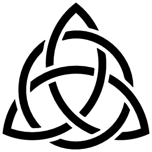 Celtic Knot Triquetra Sticker