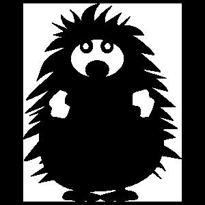 Porcupine Standing Sticker