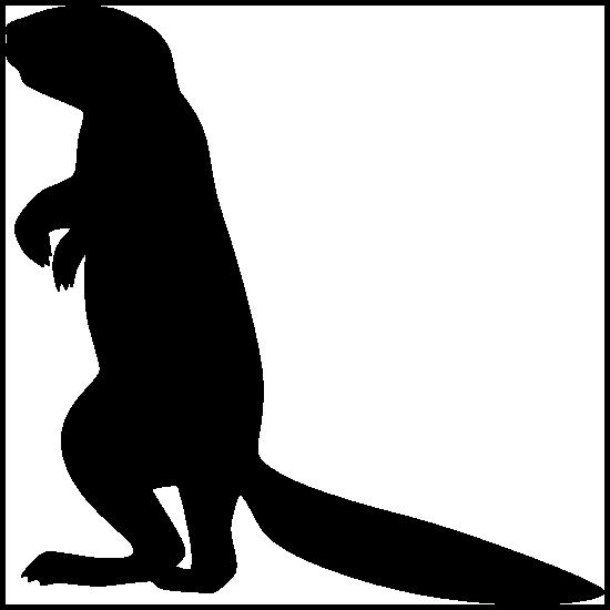 Ferret Standing Sticker
