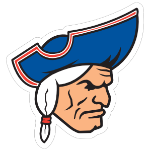 Fierce Patriot Mascot Sticker