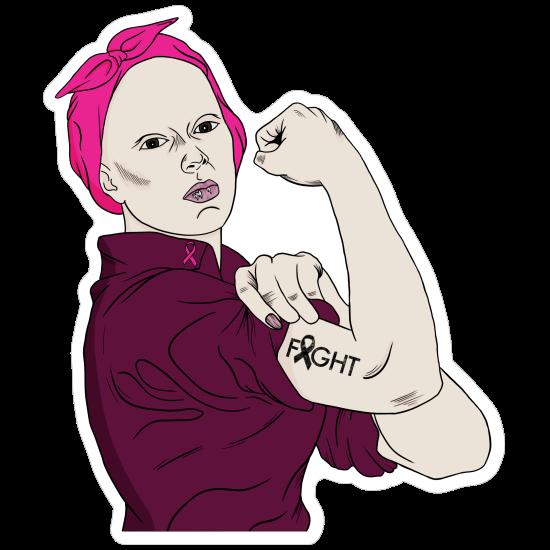 Fight Cancer Survivor Sticker