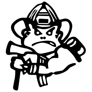 Serious Firefighter Fireman Sticker