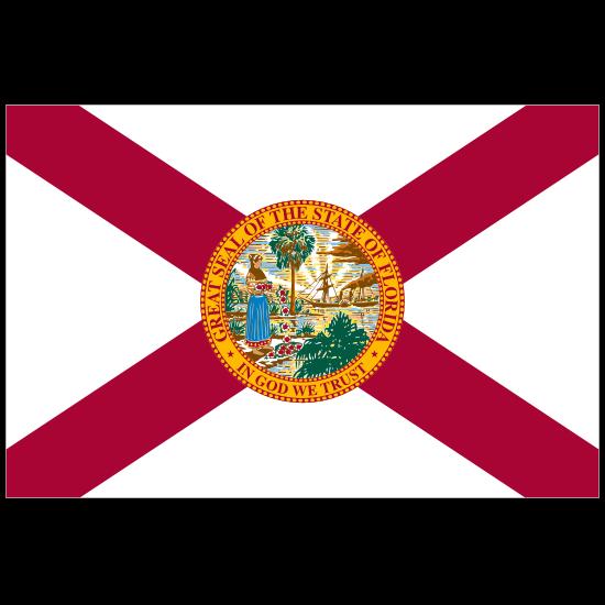 Florida Fl State Flag Magnet