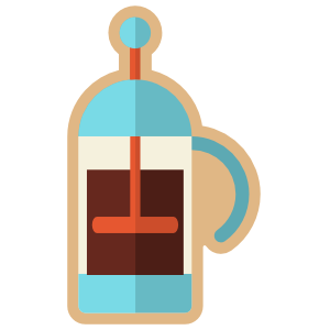 French Press Sticker