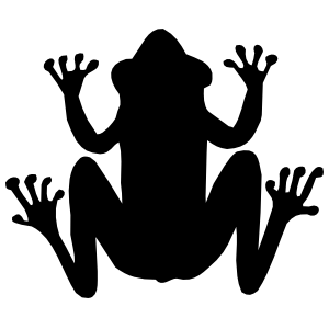 Frog Toad Sticker